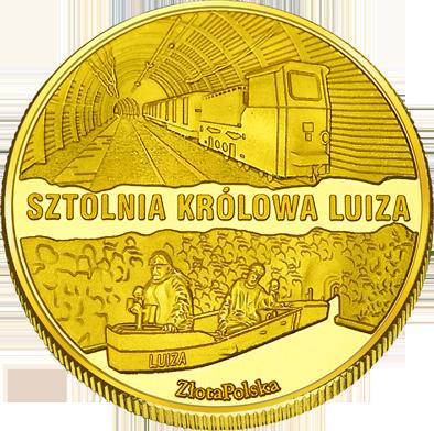 Front side Sztolnia Królowa Luiza Złote Śląskie
