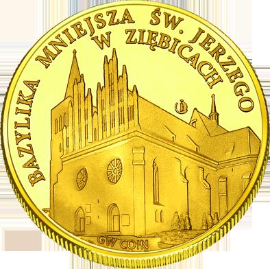 Front side Miasto Ziębice Złoty Dolny Śląsk