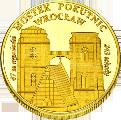 Front side Katedra św. Marii Magdaleny we Wrocławiu Złote Dolnośląskie