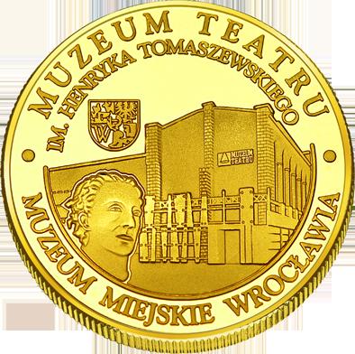 Front side Muzeum Teatru im. Henryka Tomaszewskiego we Wrocławiu Złote Dolnośląskie