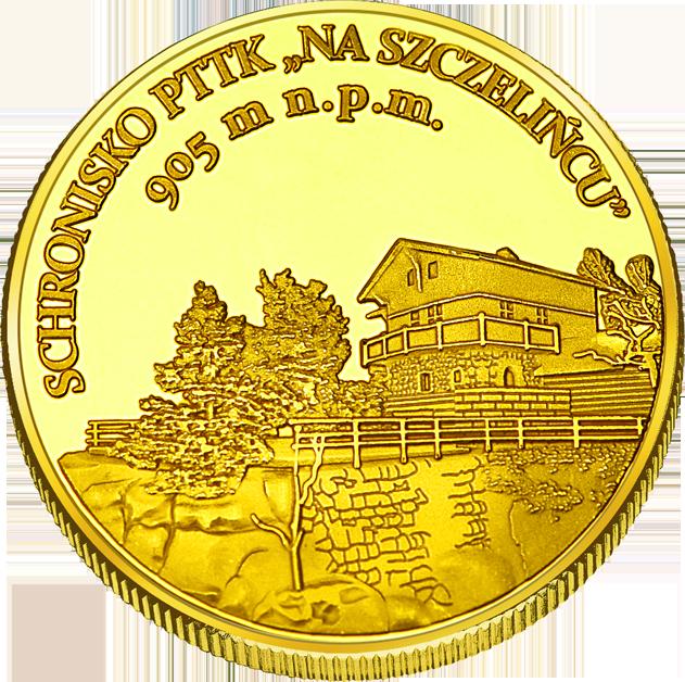 Front side Schronisko na Szczelińcu Złoty Dolny Śląsk