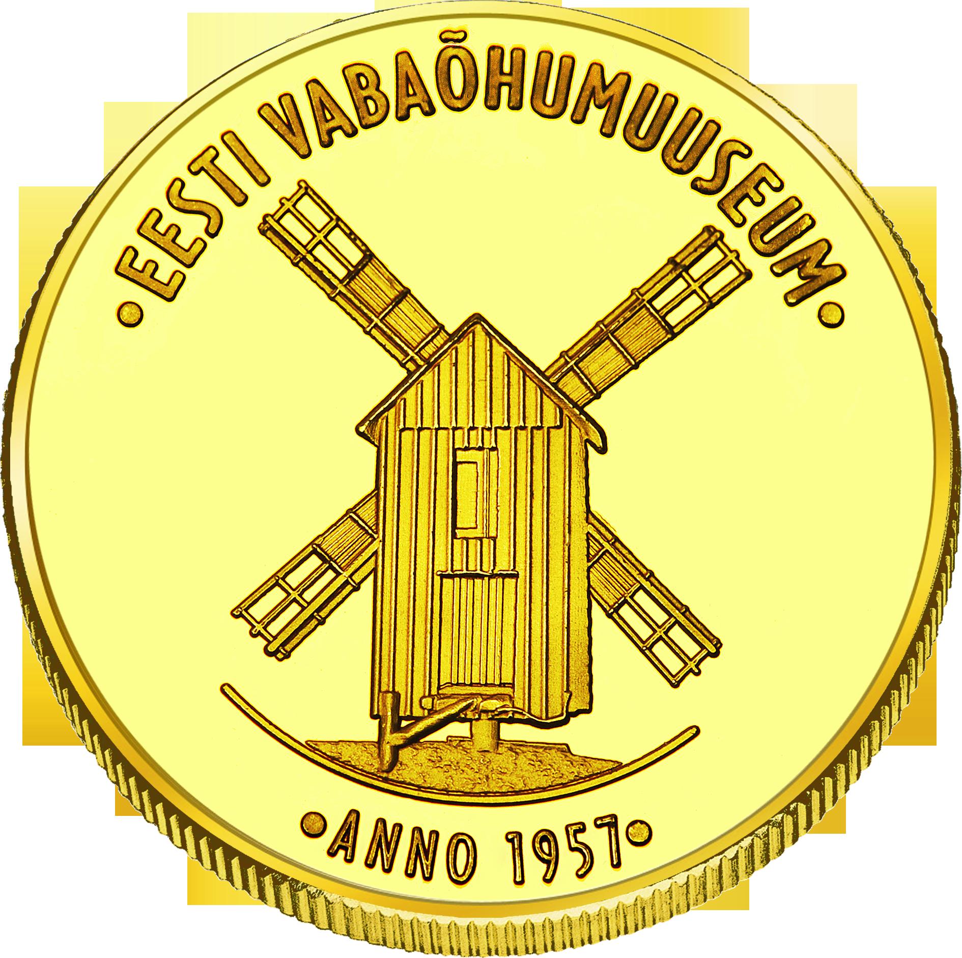 Front side Eesti Vabaõhumuuseumi Goldenes Estonia