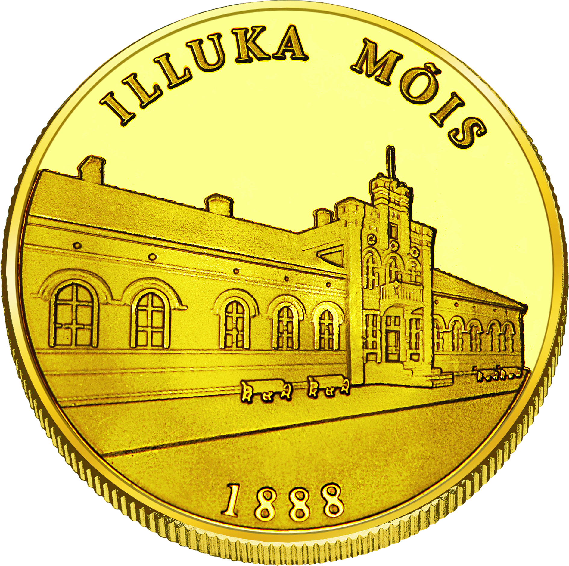 Front side Illuka mõis Goldenes Estonia