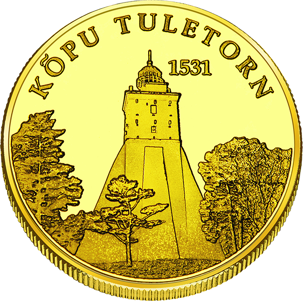 Front side Kõpu tuletorn Goldenes Estonia