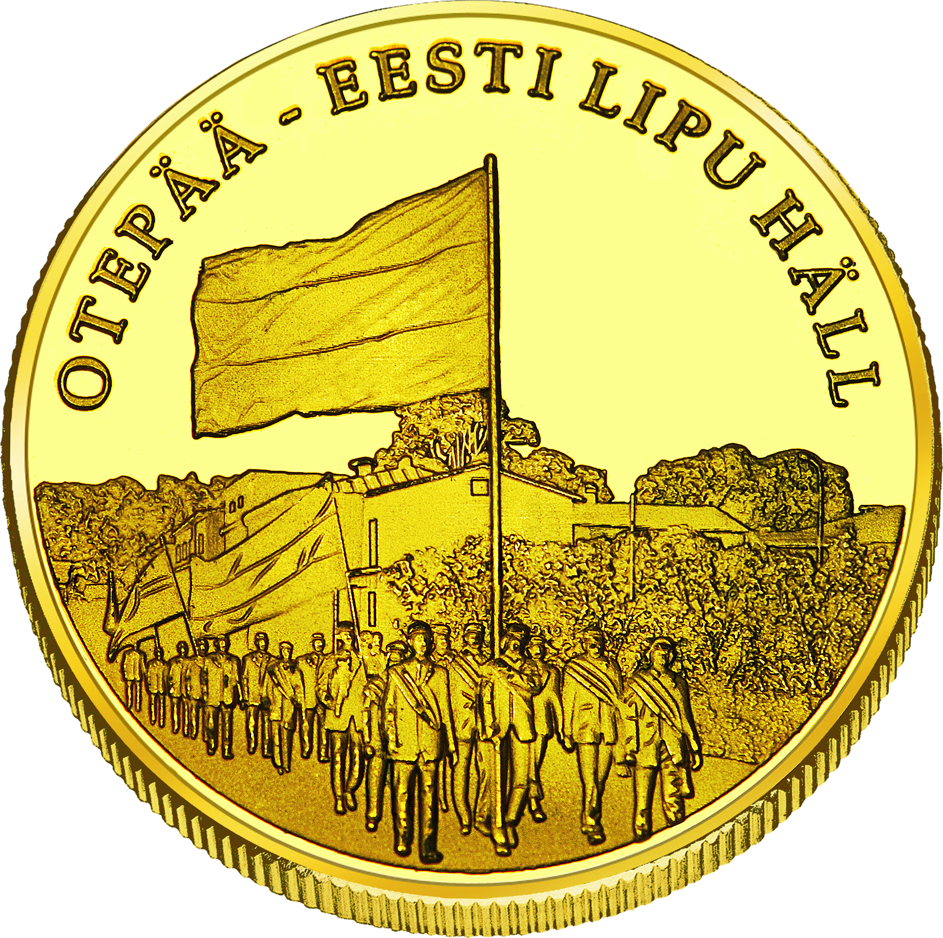 Front side Otepää  Goldenes Estonia