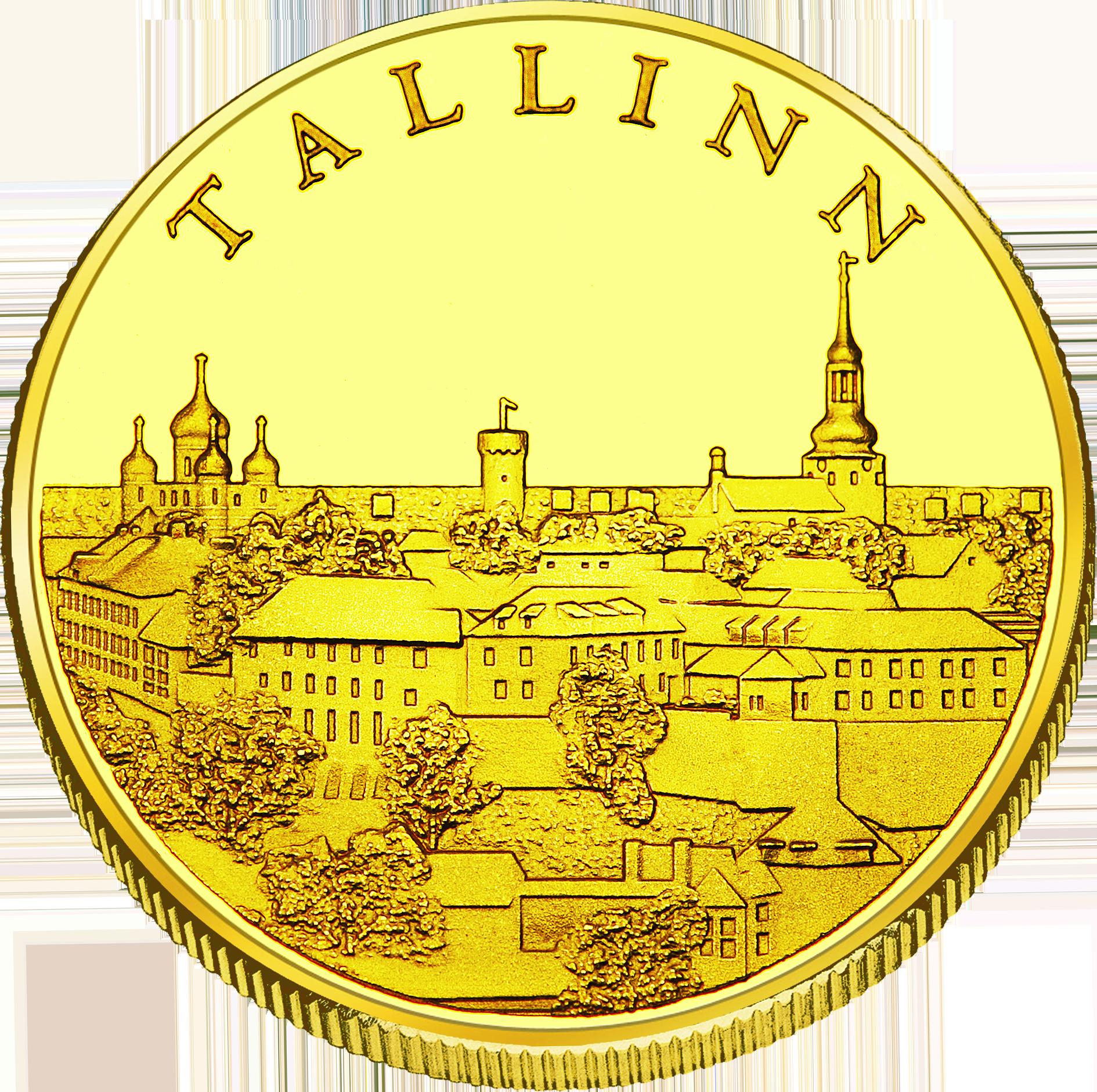 Front side Tallinna Lennujaam Goldenes Estonia