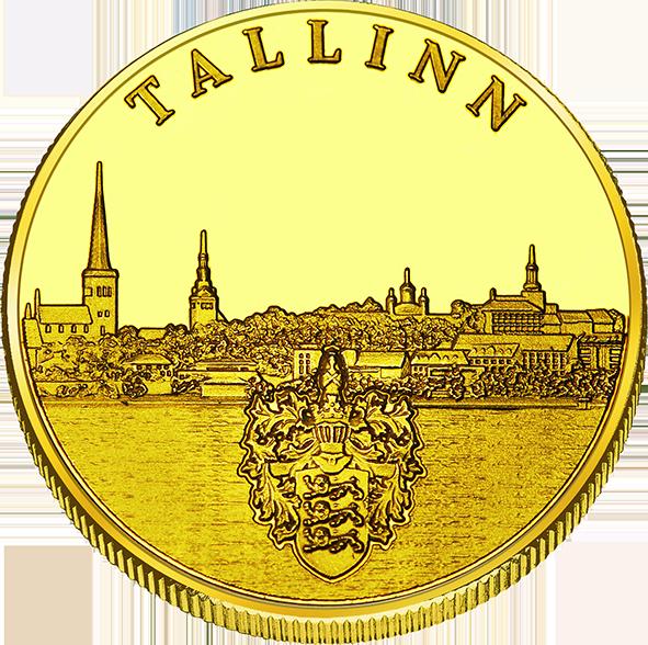 Front side Tallinna Sadam Goldenes Estonia