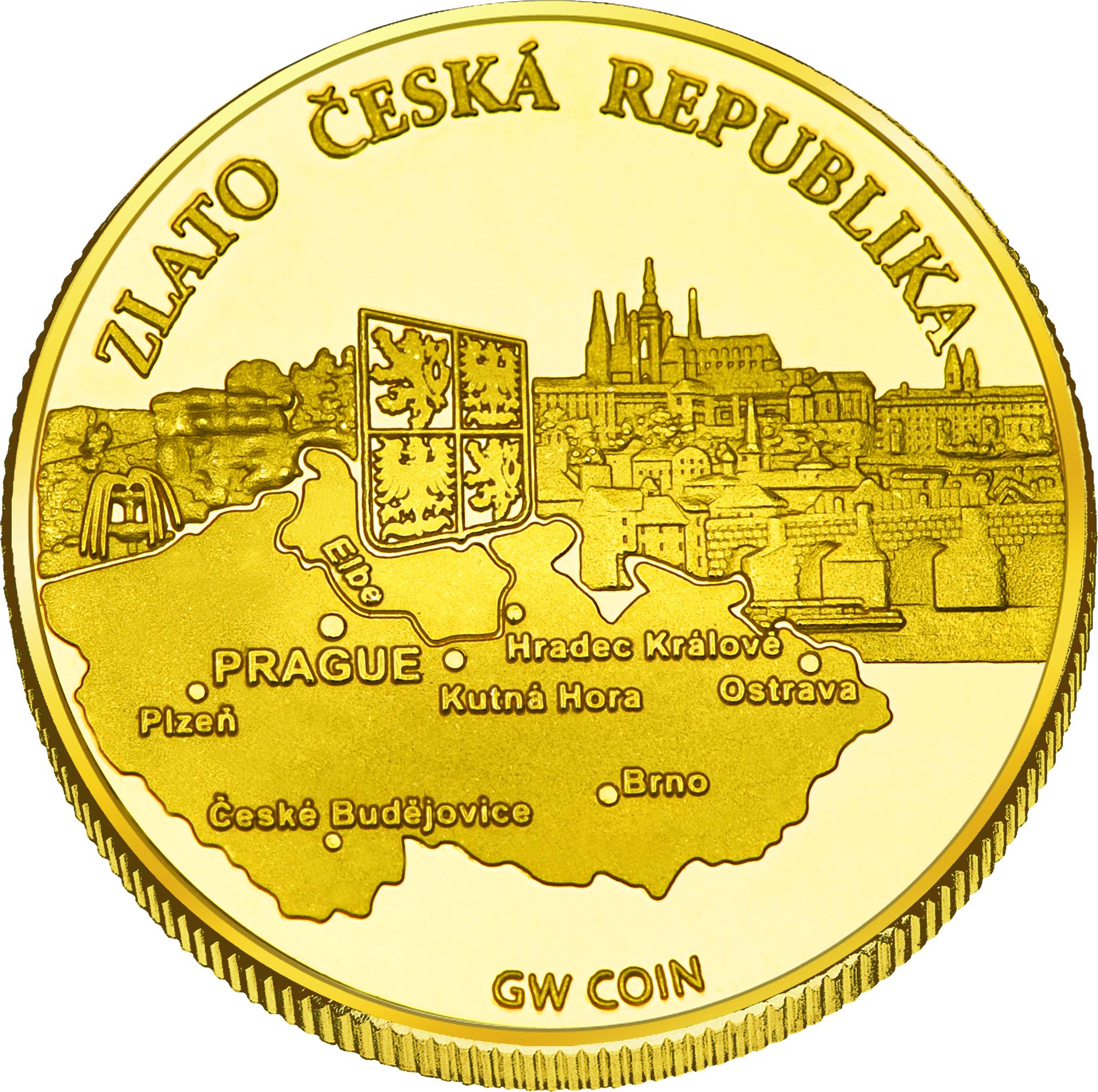 Back side of Chata Čantoryje Golden Czech Republic