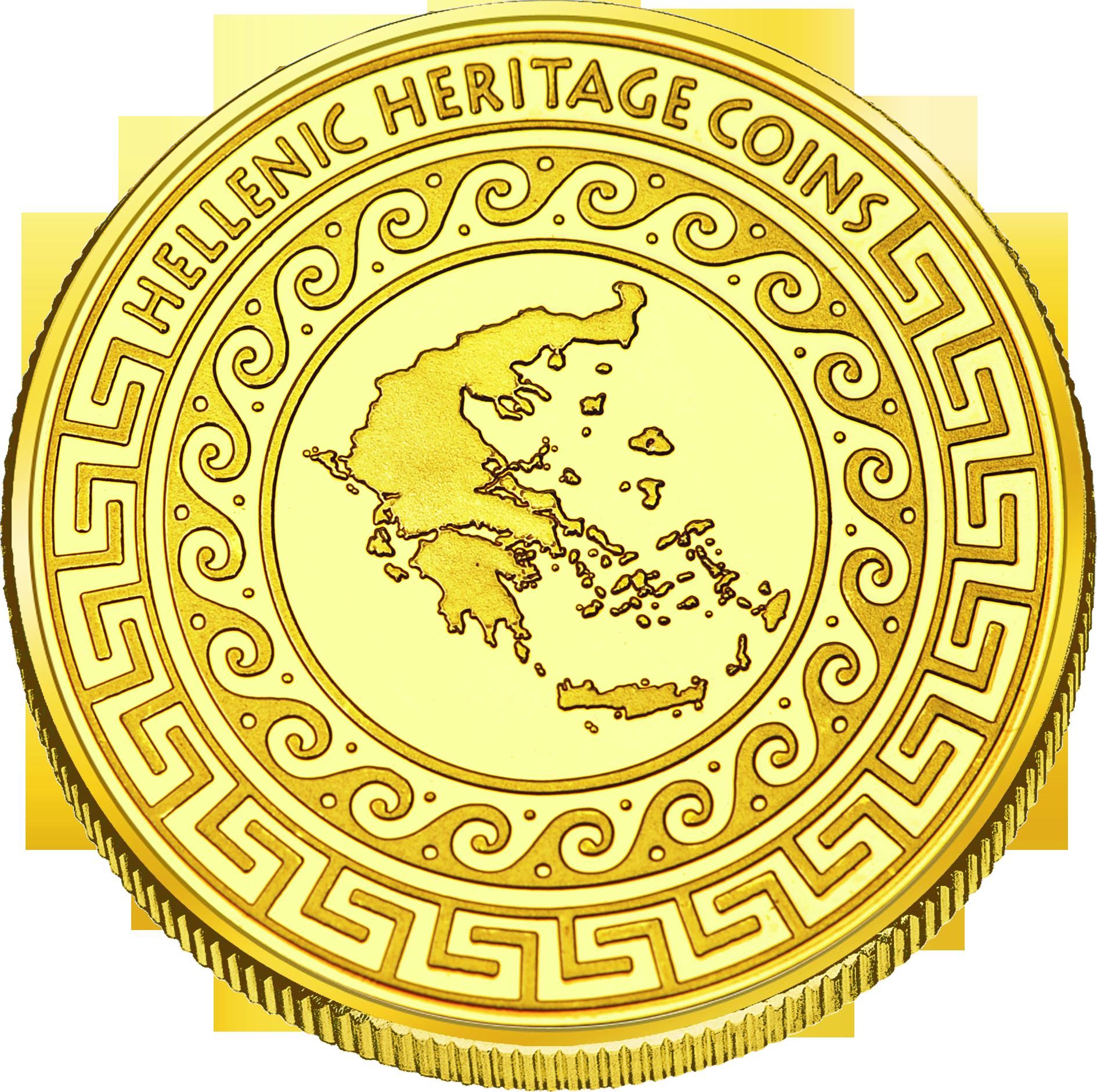 Back side of Παρθενώνας Golden Greece