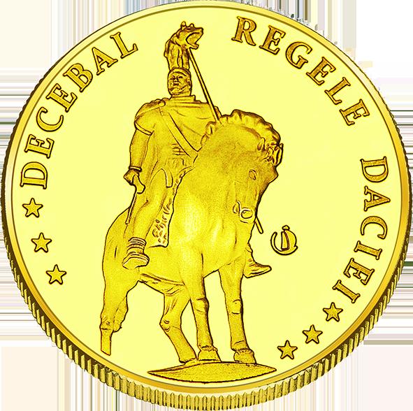 Back side of Cetatea Devei Golden Romania