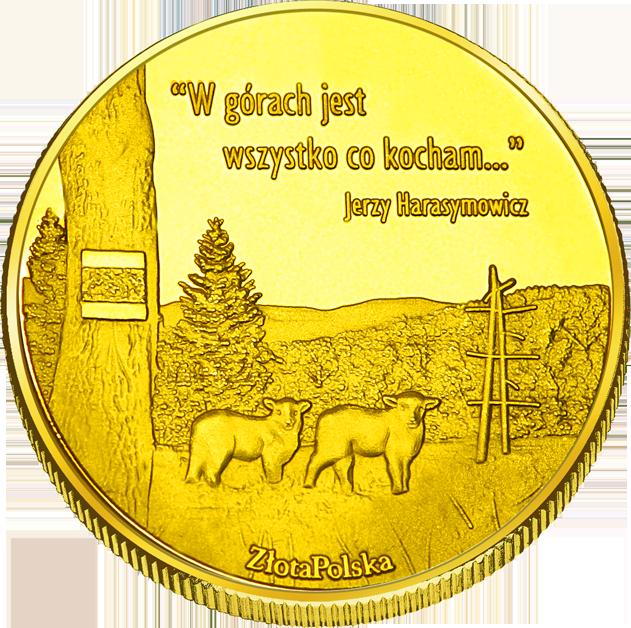 Back side of Bacówka na Maciejowej w Gorcach Złote Małopolskie