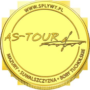 Back side of Spływ rzeką Krutynią AS - TOUR Złote Warmińsko-Mazurskie