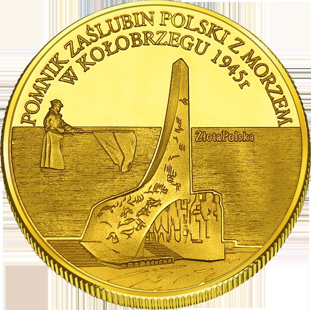 Back side of Miasto Kołobrzeg Złote Zachodnio-Pomorskie