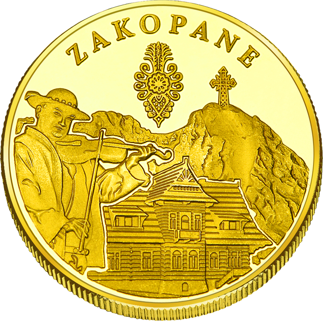 Back side of Kaplica Najświętszego Serca Jezusa na Jaszczurówce w Zakopanem Złote Małopolskie