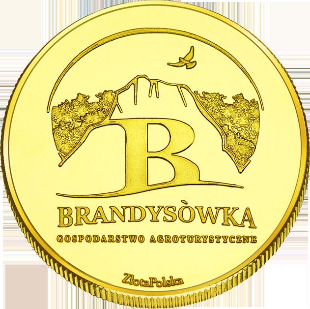 Back side of Brandysówka Złote Małopolskie