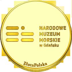 Back side of Żuraw Gdański Złote Pomorskie