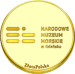 Back side of Dar Pomorza Złote Pomorskie