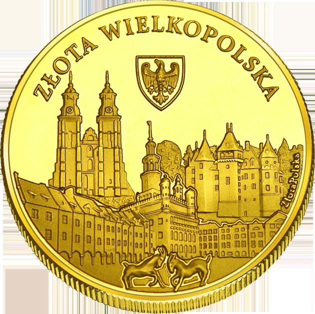 Back side of Stary Rynek w Poznaniu Złote Wielkopolskie