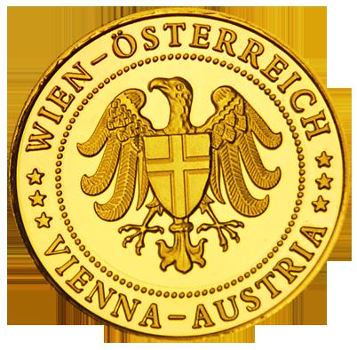 Back side of Kaiserliche Wagenburg Schloss Schönbrunn Golden Austria