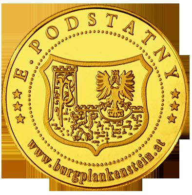 Back side of Burg Plankenstein Golden Austria