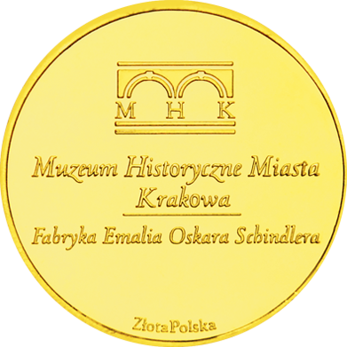 Back side of Fabryka Schindlera w Krakowie Złote Małopolskie