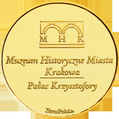 Back side of Pałac Krzysztofory w Krakowie Złoty Kraków
