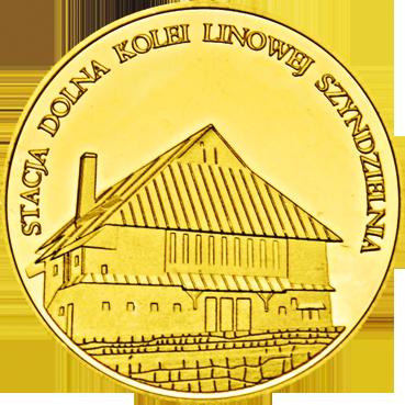 Back side of Kolej linowa Szyndzielnia w Bielsku Białej Złote Śląskie