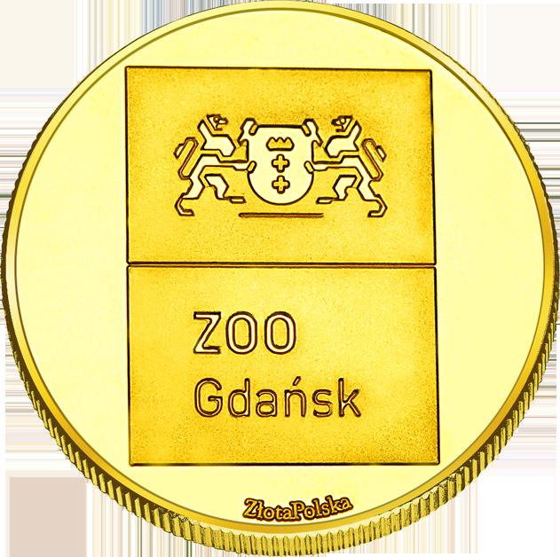 Back side of Miejski Ogród Zoologiczny w Gdańsku Złote Pomorze