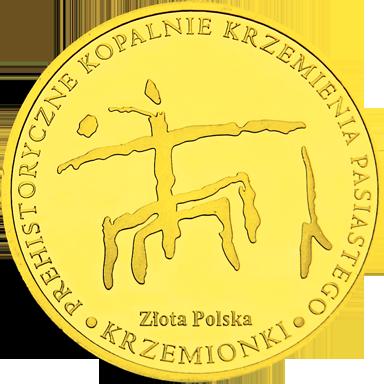 Back side of Rezerwat Archeologiczno - Przyrodniczy Krzemionki Złote Świętokrzyskie