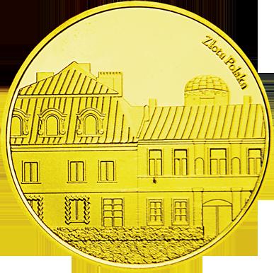 Back side of Muzeum im. Przypkowskich w Jędrzejowie Złote Świętokrzyskie