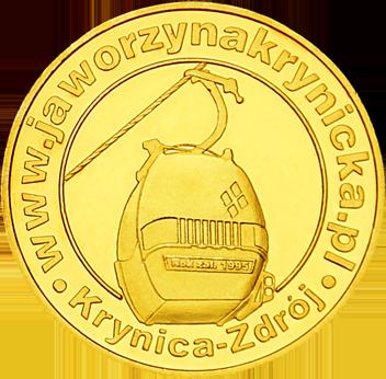 Back side of Kolej Gondolowa Jaworzyna Krynicka w Beskidzie Sądeckim Złote Małopolskie