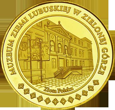Back side of Muzeum Ziemi Lubuskiej w Zielonej Górze Inne Złote Miejsca
