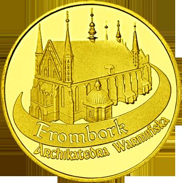 Back side of Wzgórze Katedralne we Fromborku Złote Warmińsko-Mazurskie