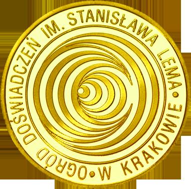 Back side of Ogród Doświadczeń im. Stanisława Lema Złoty Kraków