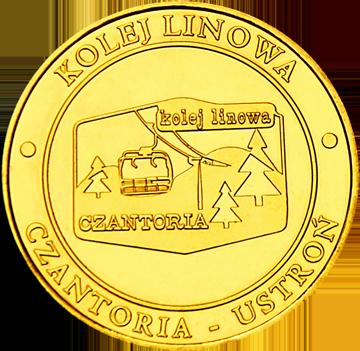 Back side of Kolej Linowa Czantoria w Ustroniu Złote Śląskie