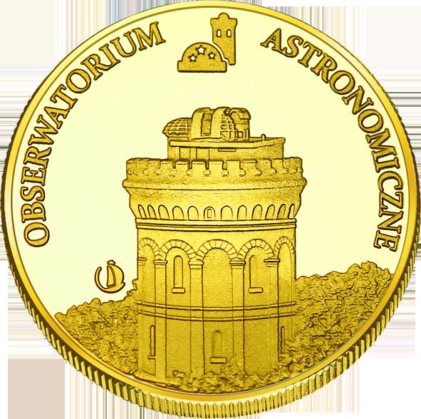 Back side of Olsztyńskie Planetarium i Obserwatorium Astronomiczne w Olsztynie Złote Warmińsko-Mazurskie