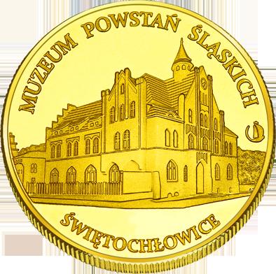 Back side of Muzeum Powstań Śląskich w Świętochłowicach Złote Śląskie