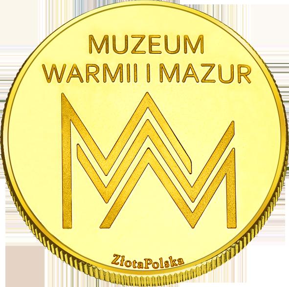 Back side of Muzeum Warmii i Mazur - Zamek Olsztyn Złota Warmia i Mazury