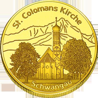 Back side of Tegelbergbahn Golden Germany