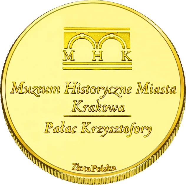Back side of Szopka Krakowska Złoty Kraków