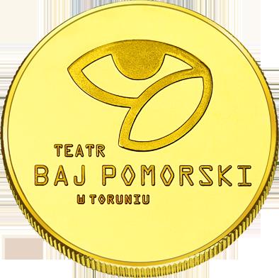 Back side of Teatr Baj Pomorski w Toruniu Złote Kujawsko - Pomorskie