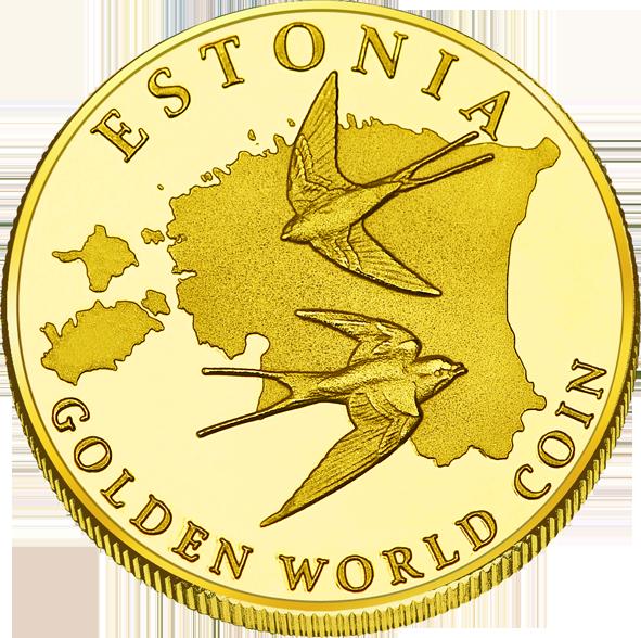 Back side of Otepää  Goldenes Estonia
