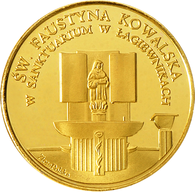 Front side Sanktuarium Bożego Miłosierdzia w Krakowie - Łagiewnikach Złote Małopolskie