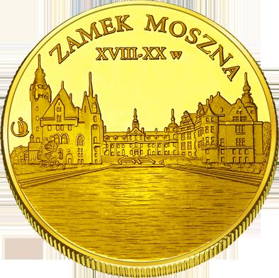 Front side Zamek w Mosznej Złote Opolskie
