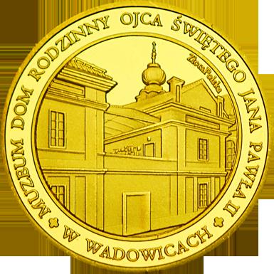 Front side Muzeum Dom Rodzinny Ojca Świętego Jana Pawła II w Wadowicach Złote Małopolskie
