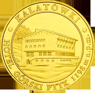 Front side Hotel Górski PTTK Kalatówki Zakopane Szlak Jana Pawła II