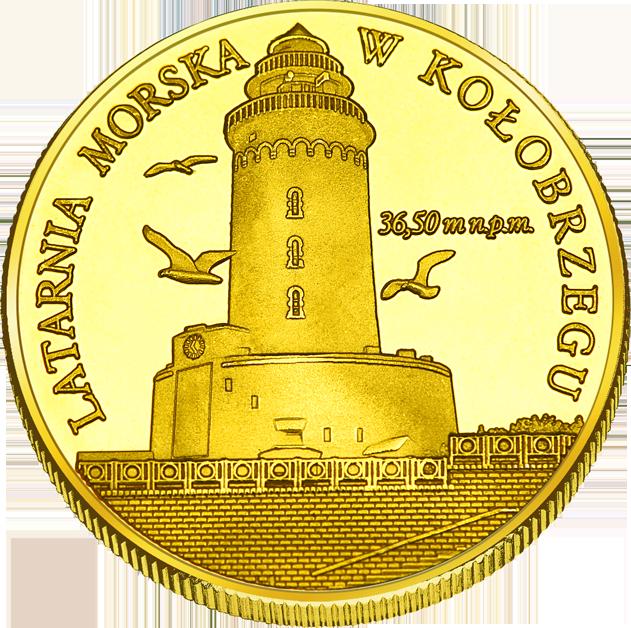 Front side Miasto Kołobrzeg Złote Zachodnio-Pomorskie