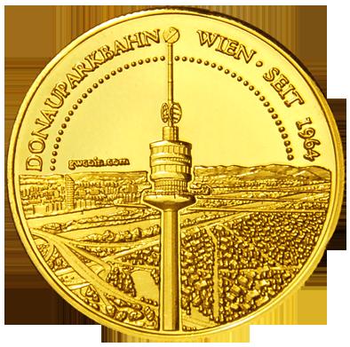 Front side Donauparkbahn Golden Austria