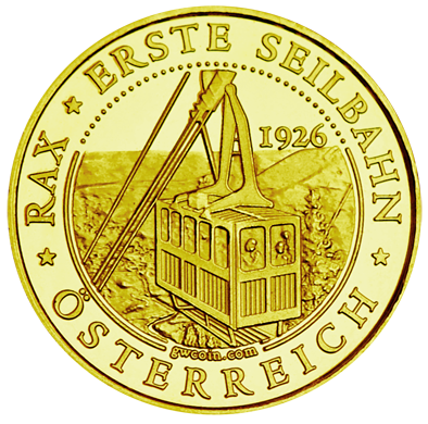 Front side Rax-Seilbahn Golden Austria