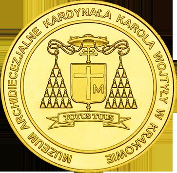 Front side Muzeum Archidiecezyjne Kardynała Wojtyły w Krakowie Złoty Kraków